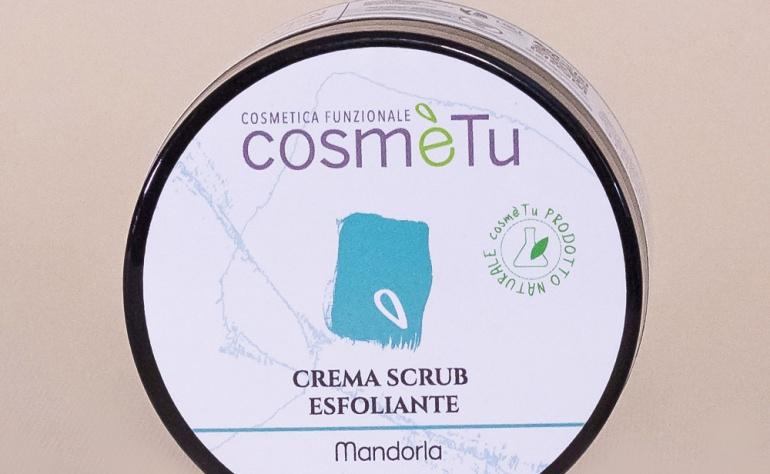 Profumo di mandorle: con la Crema Scrub esfoliante CosmèTu una esplosione dei sensi